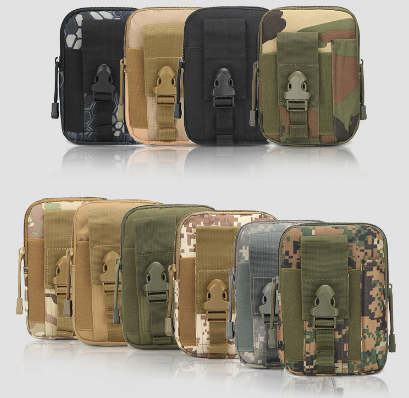 product-GF bags-Outdoor Camouflage Waist Bag WaterproofHunting Bags Military Pouches Phone Case Camo