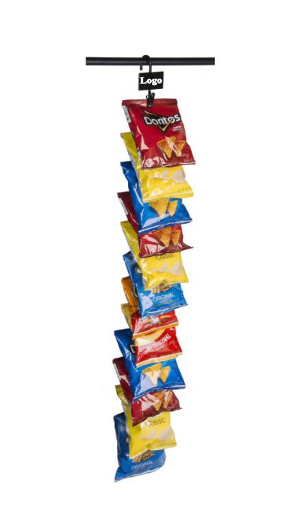 Bande d'affichage suspendue de 12 Clips, 10 pièces