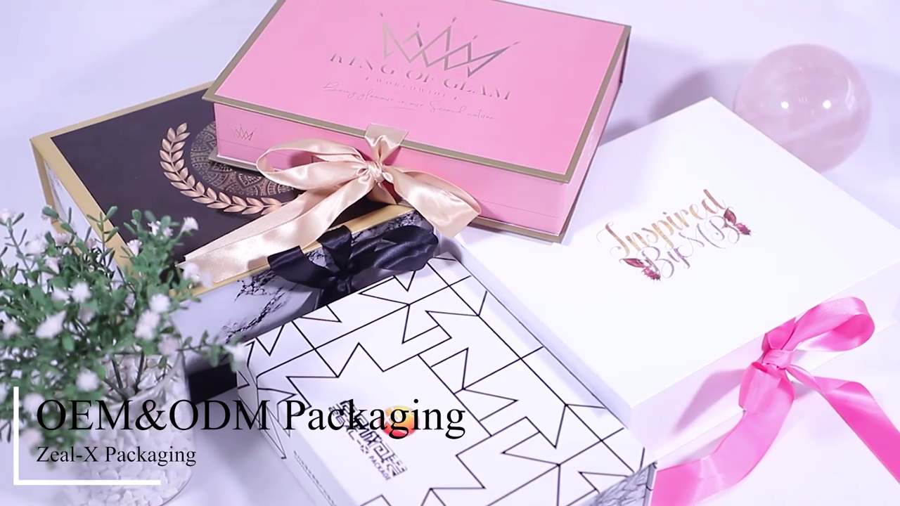 Custom Luxury Cardboard Paper Beauty Box Packaging Empty Eyeshadow Cosmetic Makeup Magnetic Gift Boxes