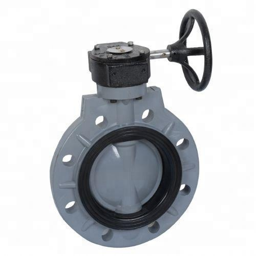 Api ANSI Din JIS Cast Besi Stainless Steel Wafer Butterfly Valve