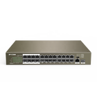 Professional Manufacturer 24-Port 100-Megabit POE Ethernet Switch