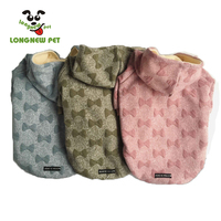 Luxury Pet Clothes 2019 New Design Cute Pet Hoodies 3D Printing Warm Dog Coat Winter