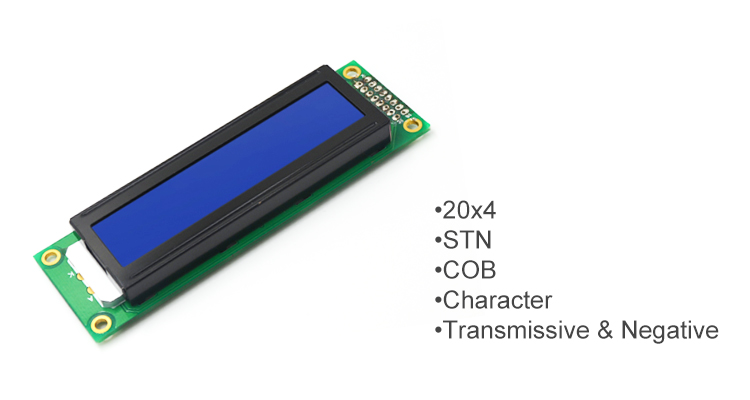 Custom lcd display module 20x2