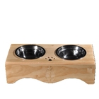 New Design Pet Cat Bowl Dog Wooden Table With Great Price