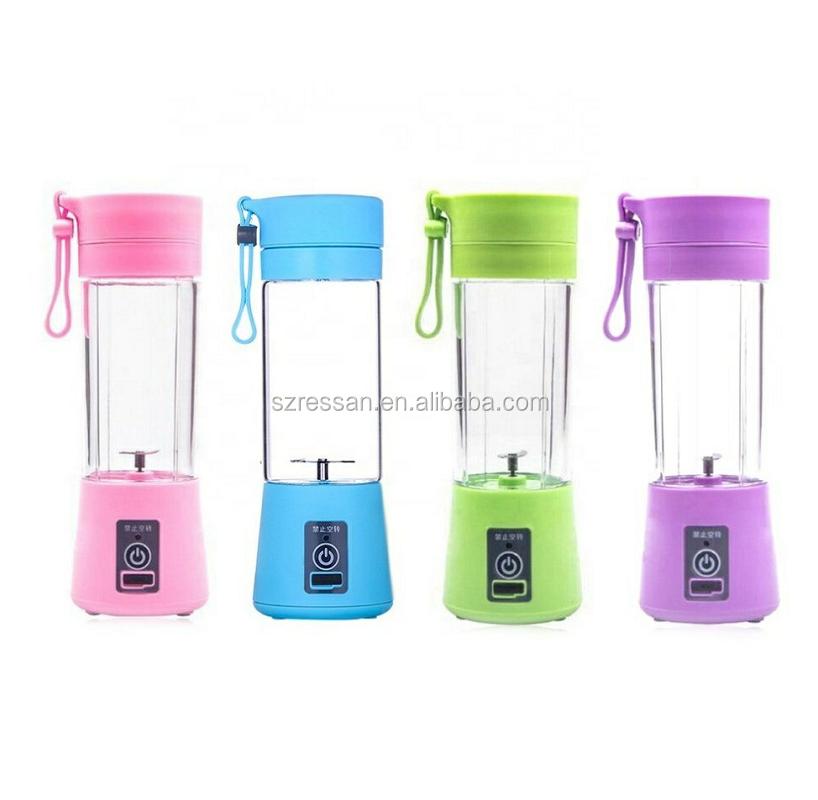 Portable USB Rechargeable Smoothie Maker Shake  Juicer Bottle Portable Juice Blender