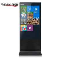 55 inch shopping mall indoor slim multimedia lcd digital advertising equipment