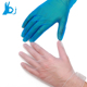 245mm clear and blue industry vinyl disposable pvc gloves