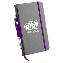 Neue design trend nach debossed logo a5 <span class=keywords><strong>leder</strong></span> bound journal writing notebook mit stift