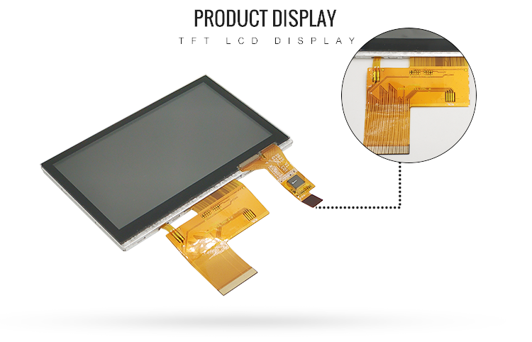 4.3 inch tft lcd displays
