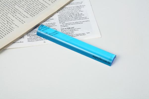 عدسة الأكريليك شريط المكبر مع مقبض للرؤية منخفضة مساعدة في القراءة