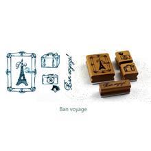 2020 Новый Винтажный планер Справочник функциональная серия украшения Штампы деревянные и резиновые штампы s(Китай)
