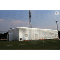 Good price inflatable football team's large training lounge tent