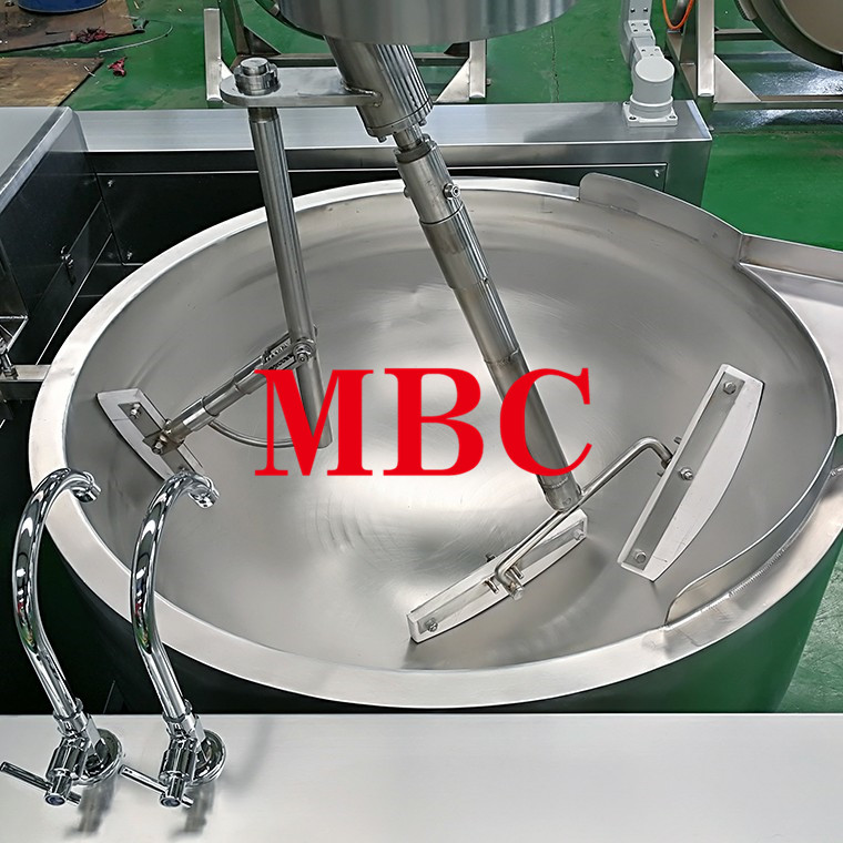 Automatic Electromagnetic Heating Planetary stirring pan for food