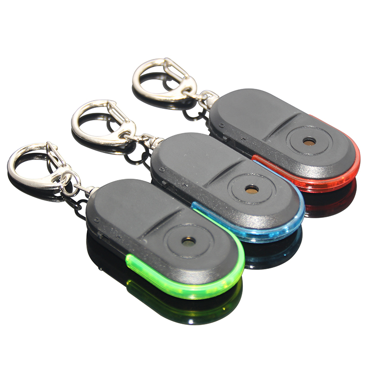 Wireless Anti-Lost Alarm Key Finder Locator Keychain เสียงนกหวีด LED Light Mini Anti Lost เด็ก Key Old Man ขนาดเล็ก Key Finder