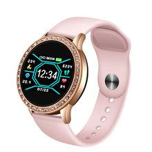 LIGE Relogio digital feminino, водонепроницаемые спортивные часы для iPhone, Роскошные, кровяное давление, модные, калорийные, для женщин и мужчин, электронн...(China)