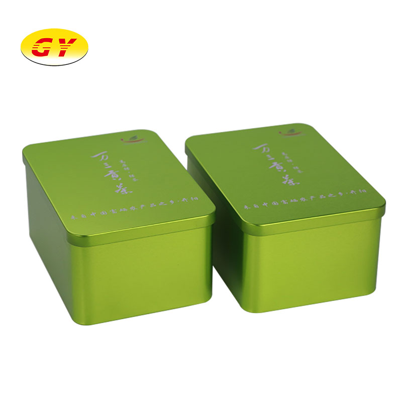 Tin manufacturer custom wholesale large tin box smoking tin