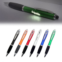 Led Light Lighting Up Bright Laser Custom Logo stylus Pen