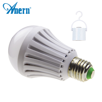 China manufacturer rechargeable led bulb lights price 5w