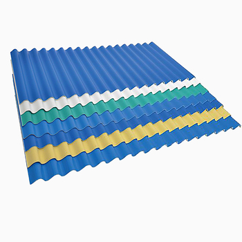 Color roof price Philippines construction building materials corrugated roofing sheets