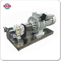 Lobe pump rotary sanitary rotor honey high viscosity stainless steel lobe pump