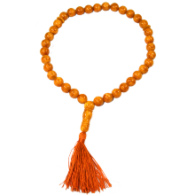Natural Baltic Amber Rosario <span class=keywords><strong>Tasbih</strong></span> Bulat <span class=keywords><strong>Muslim</strong></span> Prayer Beads Grosir 33 <span class=keywords><strong>Manik-manik</strong></span>