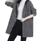 2019 wholesale casual knitted coat wool women