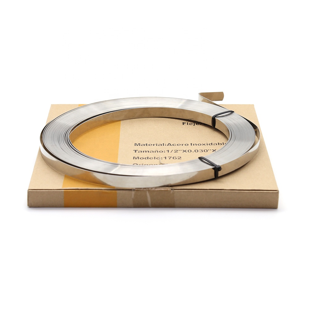 stainless steel banding strap for box plastic packing strip