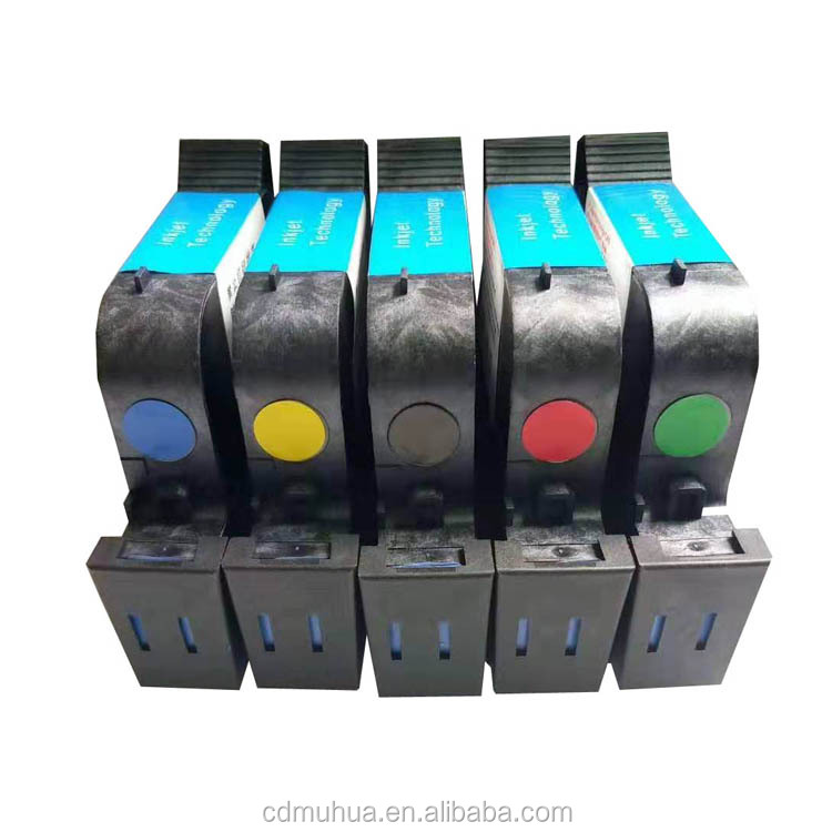 Solvent Series Quick Dry Cartridge for Barcode Printing Inkjet Printing