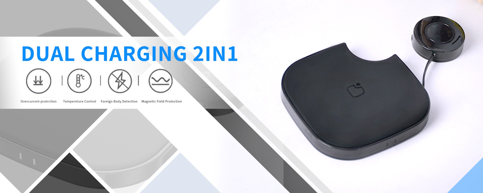 Black Marquee Innovations Qi Certified 10W Wireless Charging Pad