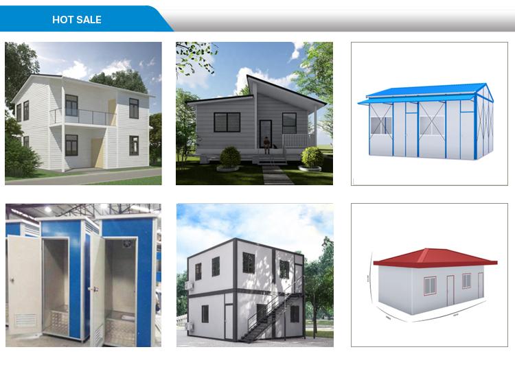 2019 inşaat atölyesi K Tipi prefabrik ev
