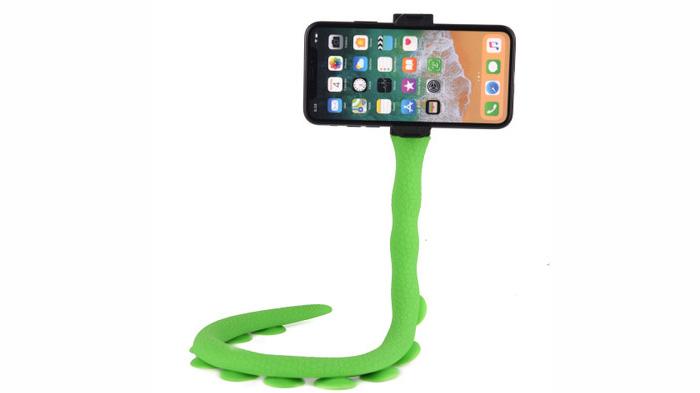 Camera Octopus Statief Flexibele Telefoon Clip Mount Telefoon Houder Selfie Stok