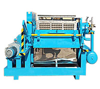 Paper Egg Tray/Carton/Box/Crate Making Machine pulp molding production line