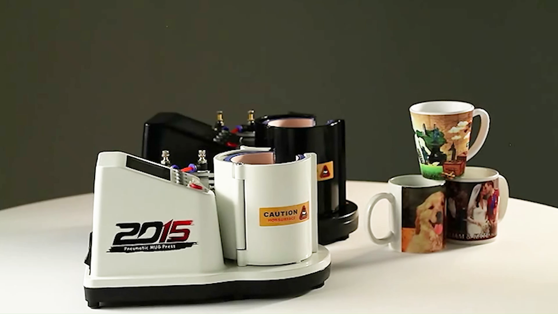 Freesub  new arrival air-operated cup heat press machine mug printing machine ST110