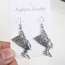 Женские винтажные серьги-кресты, серьги-подвески в стиле панк, готика, модные ювелирные изделия, аксессуары(Китай)