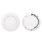 High brightness 8 inch housing 18w 24w 3000-6500k led round recessed panel light for sale