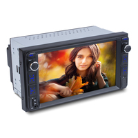 7inch android car navigation system mp5 dvd player with bluetooth for toyota