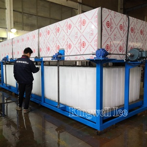KINGWELL Big ice block making machine 5t 8t 10t 20t 30t China Factory Direct Sale
