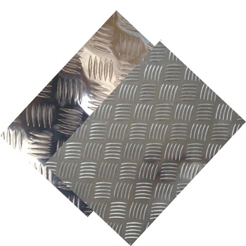 china supplier wholesale 5052 5083 3003 aluminum embossed/tread/checkered sheets 1mm 2mm 3mm