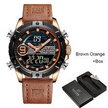 Мужские наручные часы NAVIFORCE Reloj Hombre, роскошные брендовые кварцевые часы из натуральной кожи, спортивные часы, мужские часы, 2019(China)