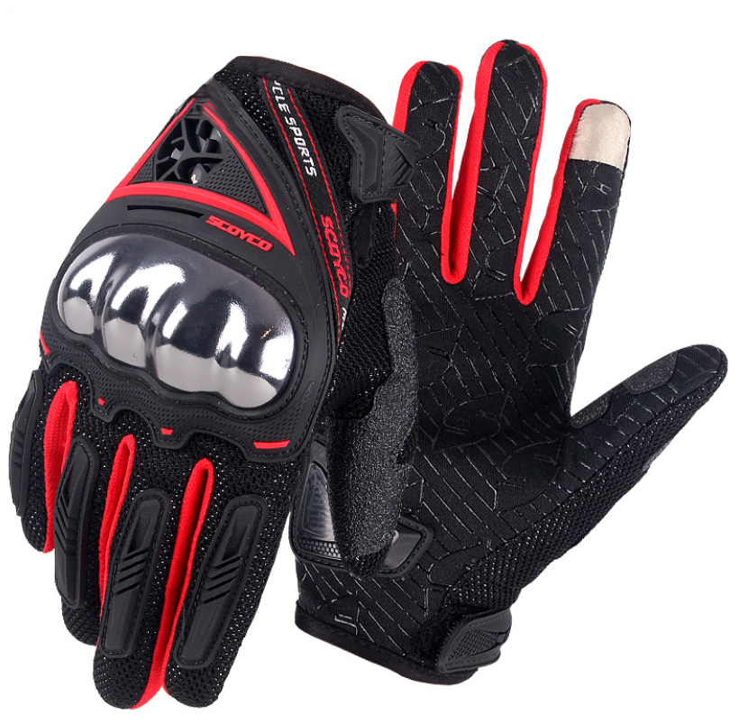 <strong>Motorcycle</strong> <strong>riding</strong> shell gloves breathable anti-fall non-slip touch screen gloves custom