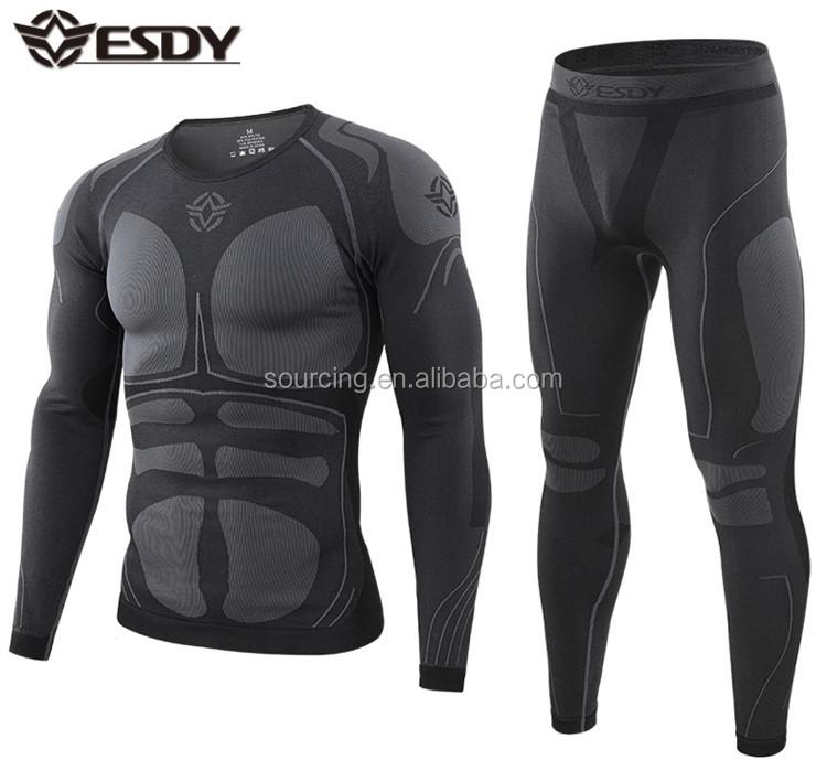 3 色 ESDY 新スタイルアウトドアスポーツ正方形フリーススーツ陸軍軍事戦術的なトレーニング熱下着
