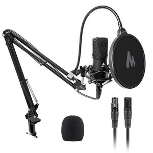Professional XLR-XLR Pro Microphone with High Quality PCB for Live News & Recording studio