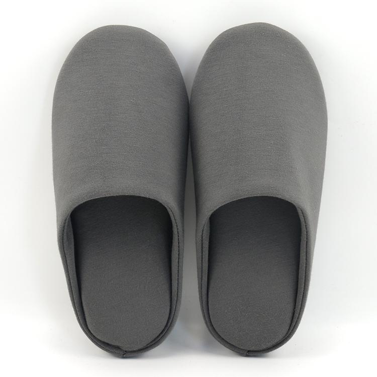 Ультра мягкая полоса унисекс хлопок дом обувь пены памяти Крытый открытый Тапочки для мужчин