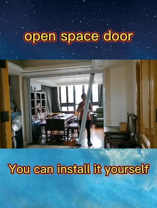 accordion screen sliding door for home