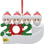 Personalized 2020 Family Christmas ornaments Holiday Decorations
