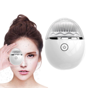 Sonic Facial Cleanser Instrument Electric Face Cleansing 2 Face Cleaner Brush Head 3 Mode Waterproof Pore Cleaning Beauty Device