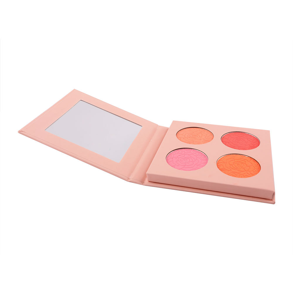 Wholesale OEM Custom Private Label Cosmetic Face Makeup Soft Powder Vegan Organic Blush Palette Vendor