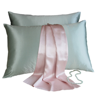 NOBBY SERINDA Silk Pillowcase Luxury Christmas Gift 100%silk satin 19m/m 22 m/m Pillowcase