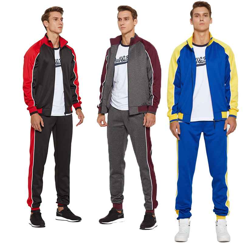 Sports Training Suit fashion Football Tracksuits Wholesale Soccer Jackets Pants