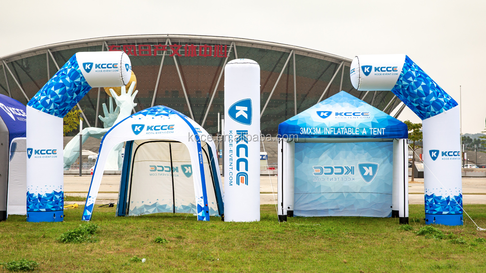 KCCE custmozied arch support inflatable advertising arch full color printing with high quality